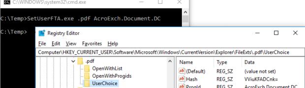 Dateiendungen automatisiert unter Windows 10 mit den gewünschten Applikationen verknüpfen