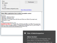 Windows Defender Exploit-Guard - Attack-Surface Reduction