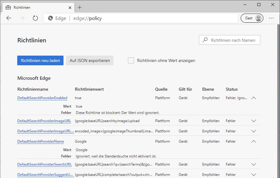 Edge-DefaultSearchProvider-Google-Policies-Error