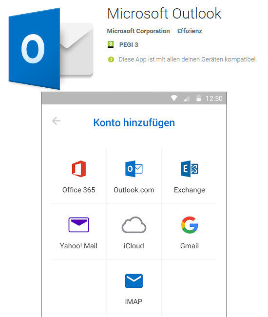 Outlook App for Android