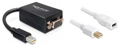 Mini-Displayport auf VGA-Adapter mit Mini-Displayport Verlängerungskabel